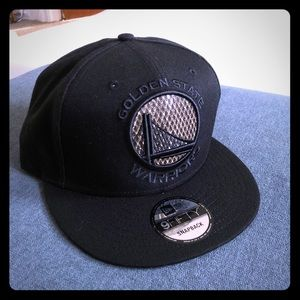 New era Golden State SnapBack Black and Gold